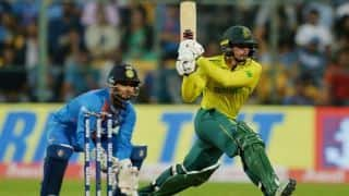 3rd T20I: De Kock leads the way as South Africa crush India to level series